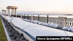 Паводок-2020. Хабаровск. Набережная