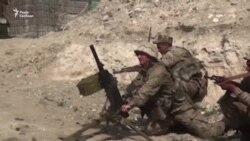 Відео масштабних боїв у Нагірному Карабасі між азербайджанськими і вірменськими силами