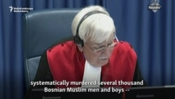 Hague Tribunal Restates: 'Genocide' Committed In Srebrenica