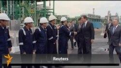British PM Cameron Visits Kazakhstan
