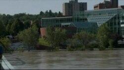 В Канаде жертвами наводнения стали три человека, многие районы обесточены