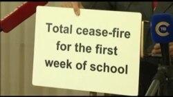 Контактная группа договорилась о прекращении огня в Донбассе с 1 сентября