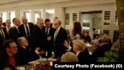Liviu Dragnea, în SUA, la învestirea lui Donald Trump