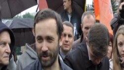 Илья Пономарев в Красноярске: скандал на автопробеге