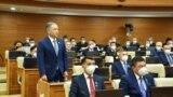 Kazakhstan - Parliament speaker Nurlan Nigmatulin