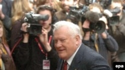 Бывший президент Литвы Альгирдас Бразаускас