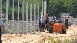 Венгрия строит забор на сербской границе