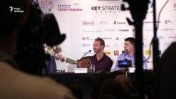 Ник Вуйчич провел пресс-конференцию в Киеве (видео)