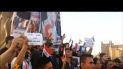 احتجاج في كربلاء على حادثة ناظم الثرثار