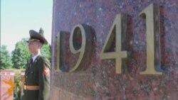 Comemorarea victimelor fascismului la Chișinău