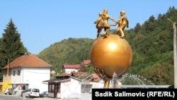 Spomenik mira u Srebrenici
