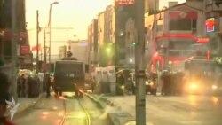 Türkiyədə polislə toqquşmalar davam edir