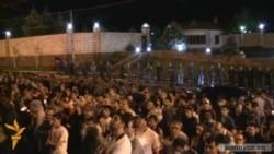 Полиция выставила кордон возле дома Рубена Айрапетяна