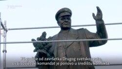 Spomenik sovjetskom maršalu podelio češko društvo