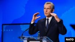 NATO Secretary-General Jens Stoltenberg (file photo)
