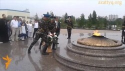 В Астане помянули жертв ядерного оружия