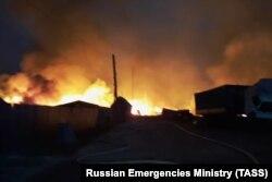 Пожары в Марий Эл. Лето 2021 года