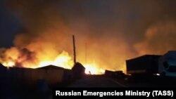 Пожар в Республике Марий Эл, иллюстрационное фото