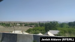 Село Кок-Таш в Баткенской области Кыргызстана. 29 апреля 2021 года.