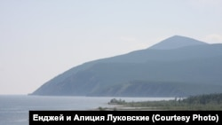 Вид на Байкал с острова Ольхон