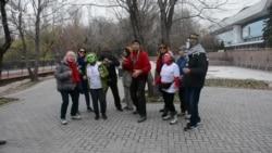 Музыкально-танцевальный протест экоактивистов