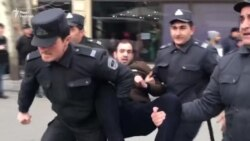 Розгін протесту в Азербайджані під гасла «Свободу!» та «Вільні вибори!» – відео