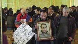 В Ереване прошли похороны Артура Саргсяна
