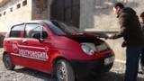 В Джалал-Абаде умельцы создают электромобили из обычных авто