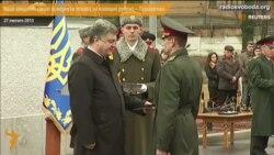 Порошенко: військові готові повернути важке озброєння у разі загострення на Донбасі
