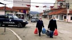 U Severnoj Mitrovici zatvorene radnje, u Zvečanu zabrana kretanja