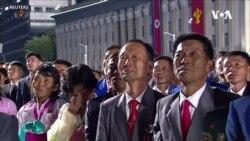 """Солтүстік Корея әскери парадта """"монстр зымыранын"""" көрсетті"""