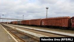 Gara din Basarabeanca, februarie 2021.