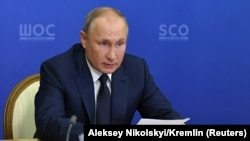 Владимир Путин. 10 ноября 2020 года.