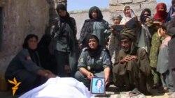 Slain Afghan Policewoman Buried in Helmand