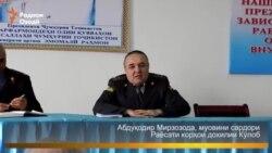 """Давлат Чолов ба гурӯҳи """"Давлати исломӣ"""" пайвастааст"""