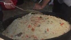 Ораза-байрам в Бахчисарае: крымчане продолжают праздновать (видео)