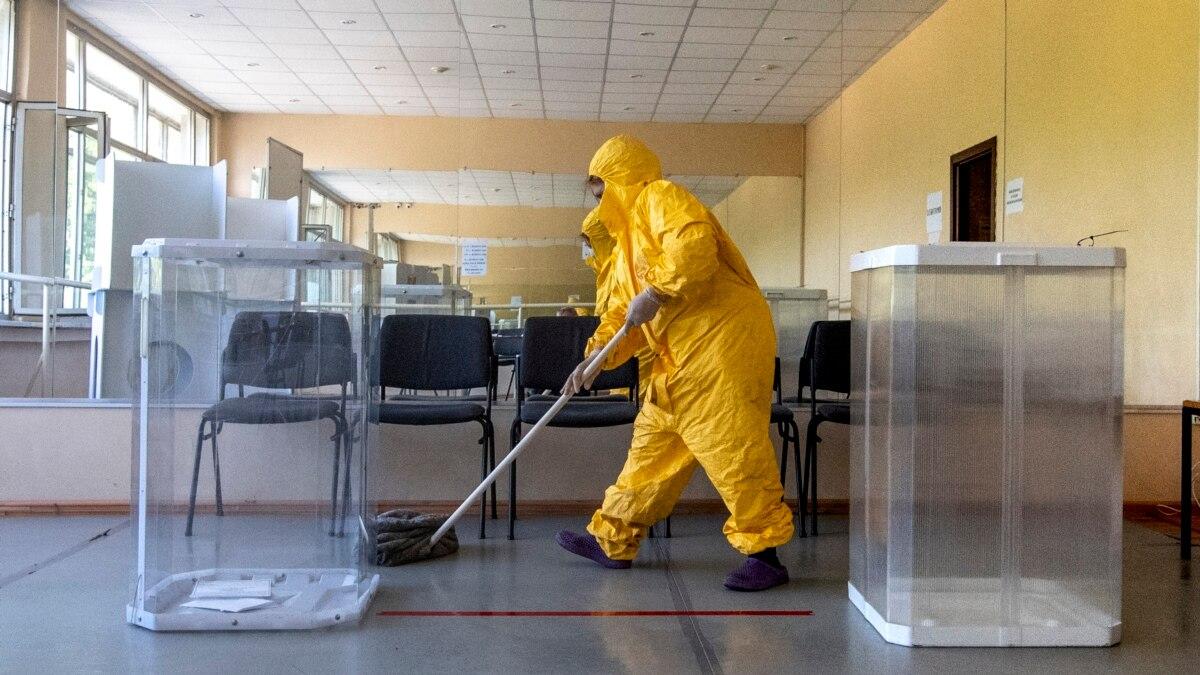 В России за сутки обнаружили наименьшее больных COVID-от 19 апреля