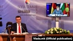 Премиерот Зоран Заев на софискиот Самит на Берлинскиот процес, 10 ноември 2020