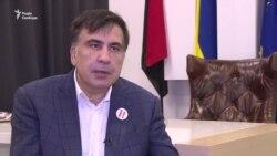 Саакашвілі назвав своє затримання «подарунком Путіну» (відео)