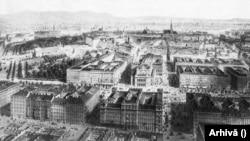 Viena, metropolă imperială, la 1870.
