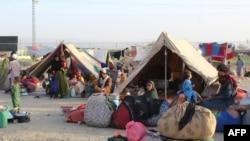 آرشیف، شماری از افغان های بیجا شده