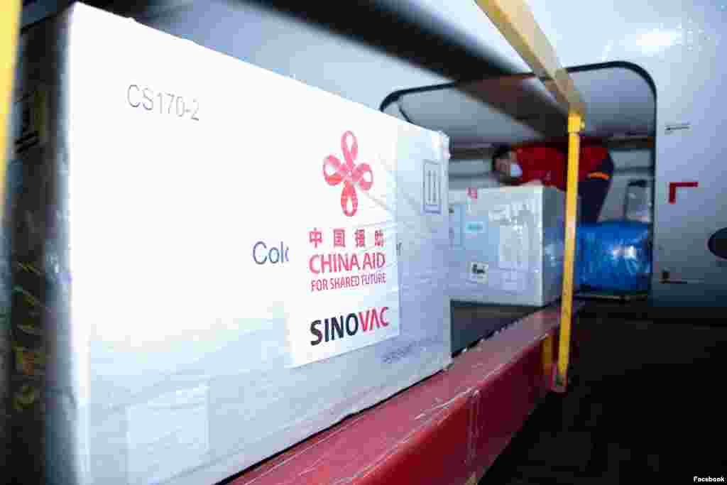 МАКЕДОНИЈА / КИНА - Во два авиона по 250 илјади дози в недела во Скопје ќе пристигнат кинеските вакцини против ковид-19 од фирмата Синовак, најави денеска министерот за здравство Венко Филипче.