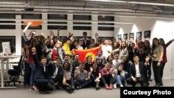 Kyrgyz Network уюмунун Германиядагы конференциясынын катышуучулары.