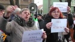 Protest la Chișinău împotriva desemnării lui Mihai Poalelungi în fruntea CSJ