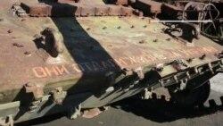 В Донецькій області відкрили танк-меморіал загиблим (відео)