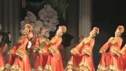 Татарстан артистлары Акмәчеттә концерт куйды