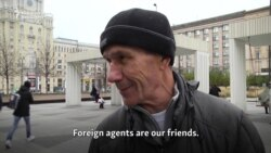 Russians React To 'Foreign Agent' Media Law