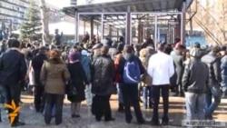 Protesters Reoccupy Yerevan Park
