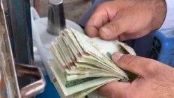 Válságban az afgán gazdaság: sokan iráni pénzre váltanak