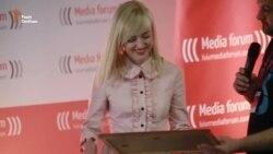Журналіст Радіо Свобода Наталка Седлецька удостоєна премії імені Олександра Кривенка (відео)